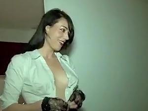 Swiss slut Adeline getting gangbanged