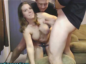 First Time Fucking Two Guys And She Is So Afrai