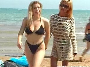 Hot group fuck-a-thon after having joy on the beach featuring Kelly Stafford