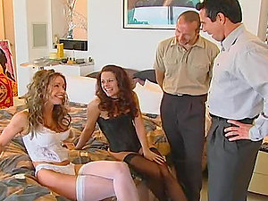 Lots of hot dual intrusion with group hookup
