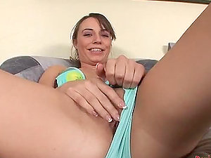 Sexy Teenager Hannah West Gets Her Pink Vulva and Asss Fucked
