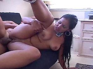Beautiful Indian Chick Deep-throats Jizz-shotgun and Gets Fucked Hard
