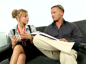 Nothing is as good for Jennifer Love as riding a fat dick