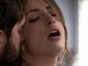 Nothing pleases Kristen Scott like his long stiff pecker