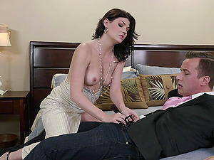 His stiff dick was all Jessica Rex needed to reach an orgasm