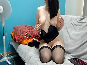 Very Horny Babe Gets Drilled On Her Ass Hole