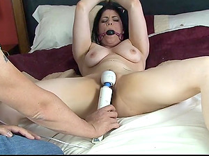 Lucia Love can't wait to get off real hard after some vibrator fun