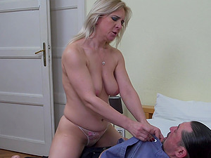 Stunning chick Alma moans while a neighbor bangs her hard