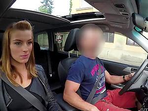 Stunning Czech slut picked up and fucked