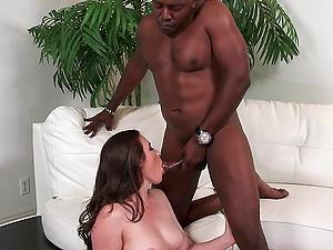Big black dick is more than enough for naughty girl Casey Calvert