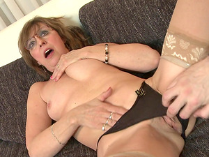 Granny Danny simply loves getting penetrated by thick cocks