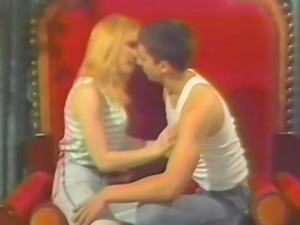 Cute sexy blonde filmed fucking and sucking her boyfriends big cock