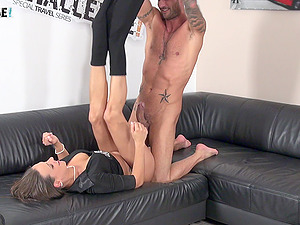 Big dicked stud makes Mea Melone remember his throbbing cock