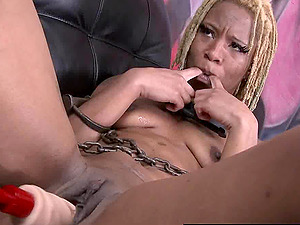 Painal & drilled by Fuck Machine