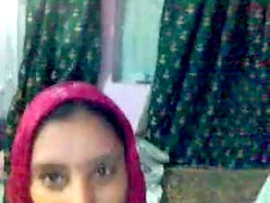 Most Beautiful indian Muslim with boyfriend while man records