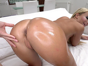 Victoria Pure has a big round ass and loves getting it pounded hard
