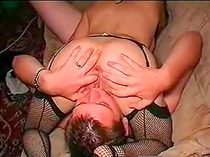 Horny busty brunette amateur ass fucked in a hotel