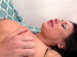 Busty Latina Sheila Marie pussy fingered and fucked hardcore