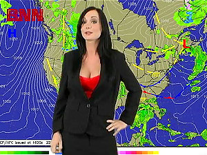 Weather Channel Gets A Bit To Hot With The Sexy Melissa Lauren