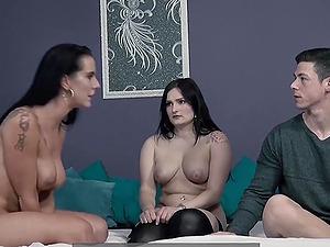Texas Patti in an anal threesome