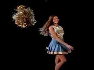 Lauren Hill is a horny naked cheerleader