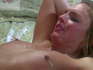 Lexi Love pussy licked and spits on a cock while deepthroating