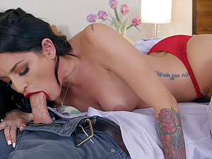 Hardcore cowgirl ass and pussy fuck with clutty MILF Kissa Sins