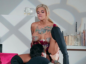 Bonnie Rotten predicts she will have cum all over her face