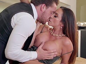 Kinky mature slut Ariella Ferrera ass fucked and creampied hardcore