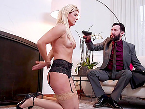 India Summer and Cadence Lux love to be punish by horny friend