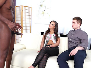 Wife Nicolette Noir Creampied by a BBC