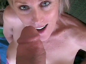 Wonderful amateur granny is such a cock slut and we love her for it.