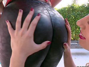 Hot compilation flick with sexy women getting butt fucked