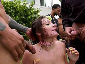 Crazy and wild girl wants to show all her fucking skills to her horny friends
