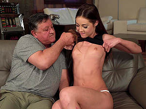Akira May spreads her legs and she waits for hard fuck with her lover