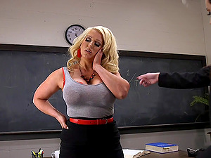 Anal training class with teacher Alura Jenson and her two friends