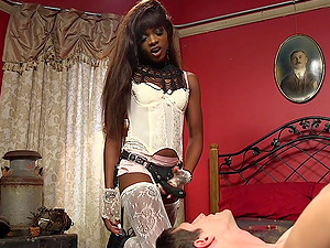 Role play and hard sex is amazing combination for ebony Ana Foxxx