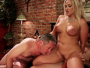 Bisexual threesome with Angel Allwood gives the best orgasm ever