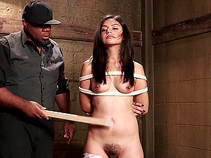 Spanking and pussy pleasing is a favorite sex game for Rose Darling