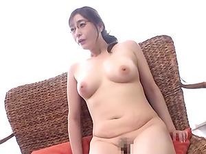 Sexy Aoi Yurika jerks a dick before she starts riding it
