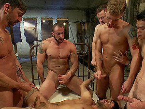 The private gay party is an memorable experience for Dominic Pacifico