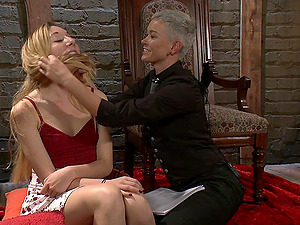 Jiz Lee and Emma Haize love to role-play as master and a slave