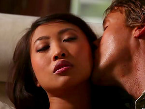 Dazzling Asian Beauty Sharon Lee Getting Banged Doggystyle