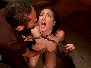 Hot Gabriella Paltrova gets her pussy destroyed with a guy's fingers