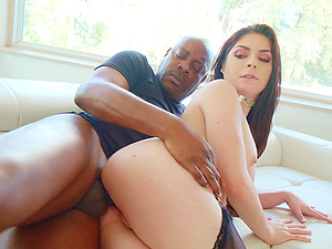 Keira Croft needs more than a black cock to feed her sexual desire