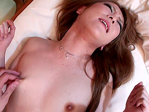 Japanese babe, Ai is fucking a handsome, marrie