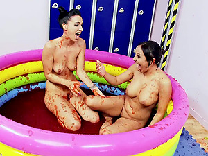 fun and cute Passion B and Romana Ryder are ready for a lesbian sex