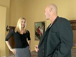 Beautiful Blonde Darryl Hanah Banged by The Wedding Banger