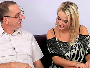 Kitty The Lovely Blonde Loves To Be Fucked Older Schlong