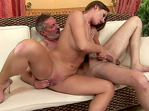 Sweetie Gets Drilled By Old Plower